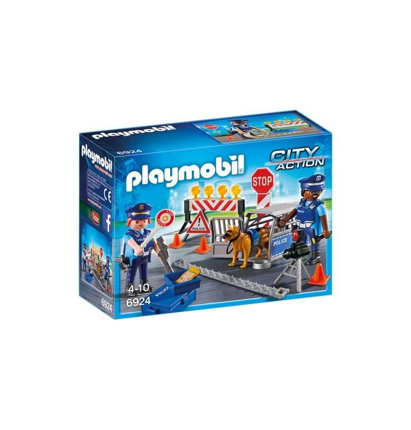 Playmobil 6924 Blokada policyjna