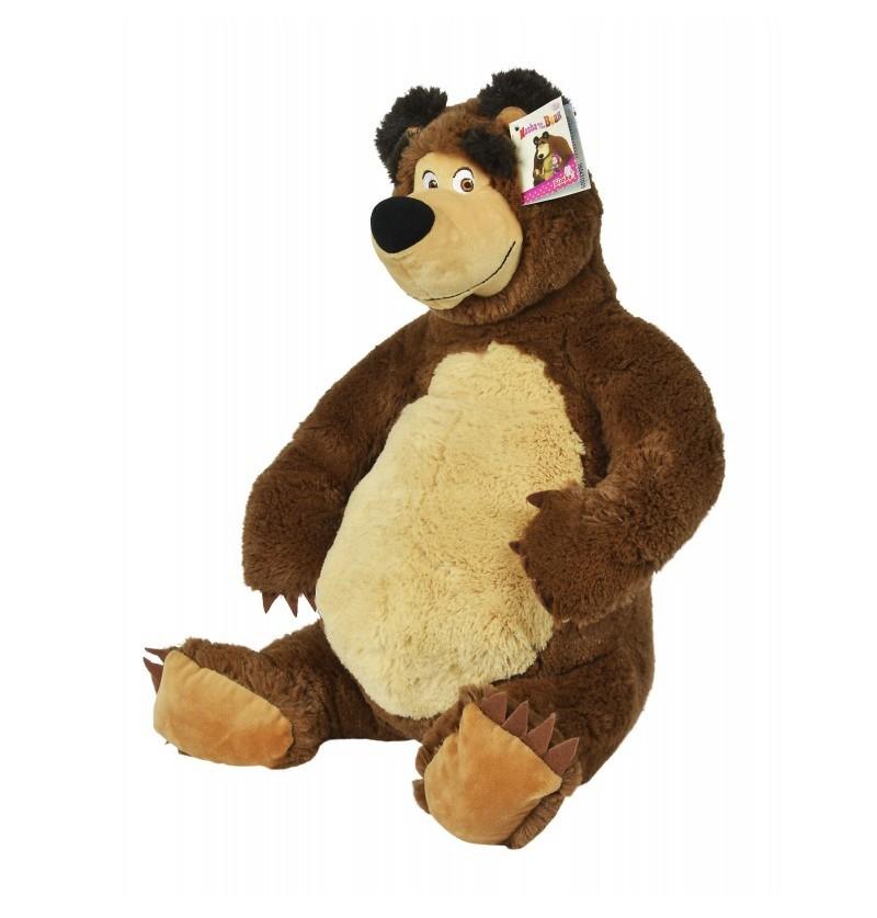 Masza i Niedźwiedź Maskotka Pluszowy Niedźwiedź Misza 50cm 9309894