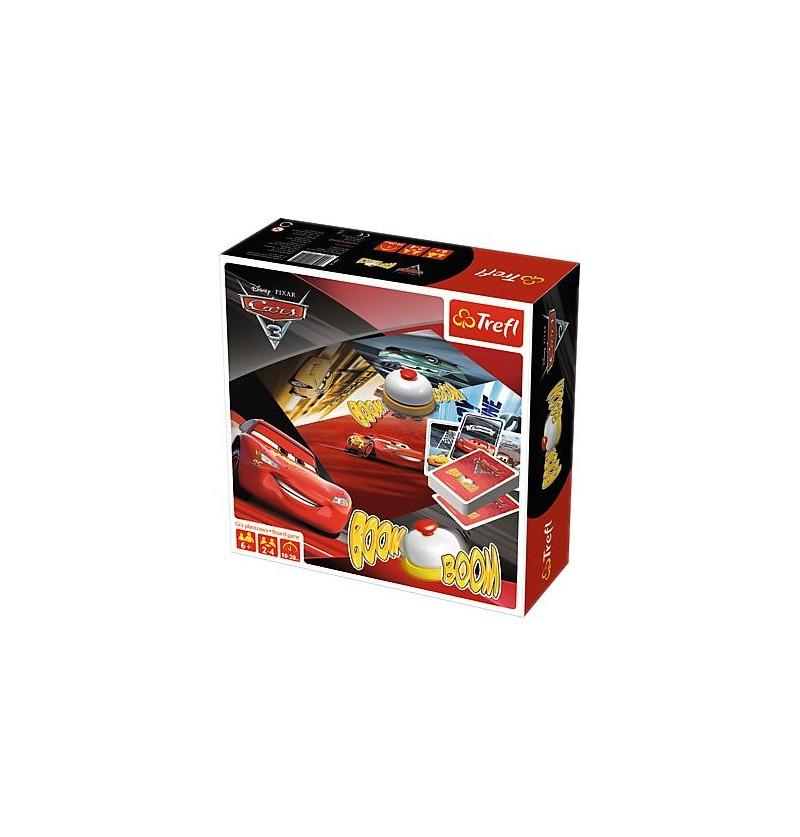 Trefl 01491 Gra Boom Boom Cars 3