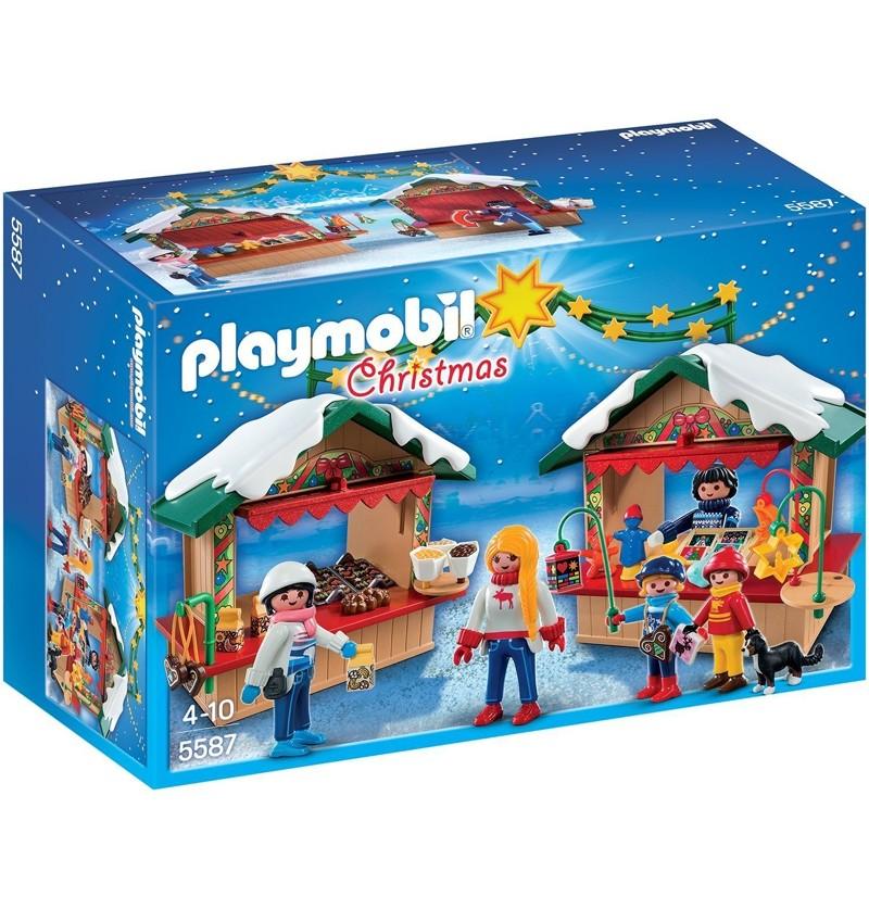 Playmobil 5587 Na jarmarku bożonarodzeniowym