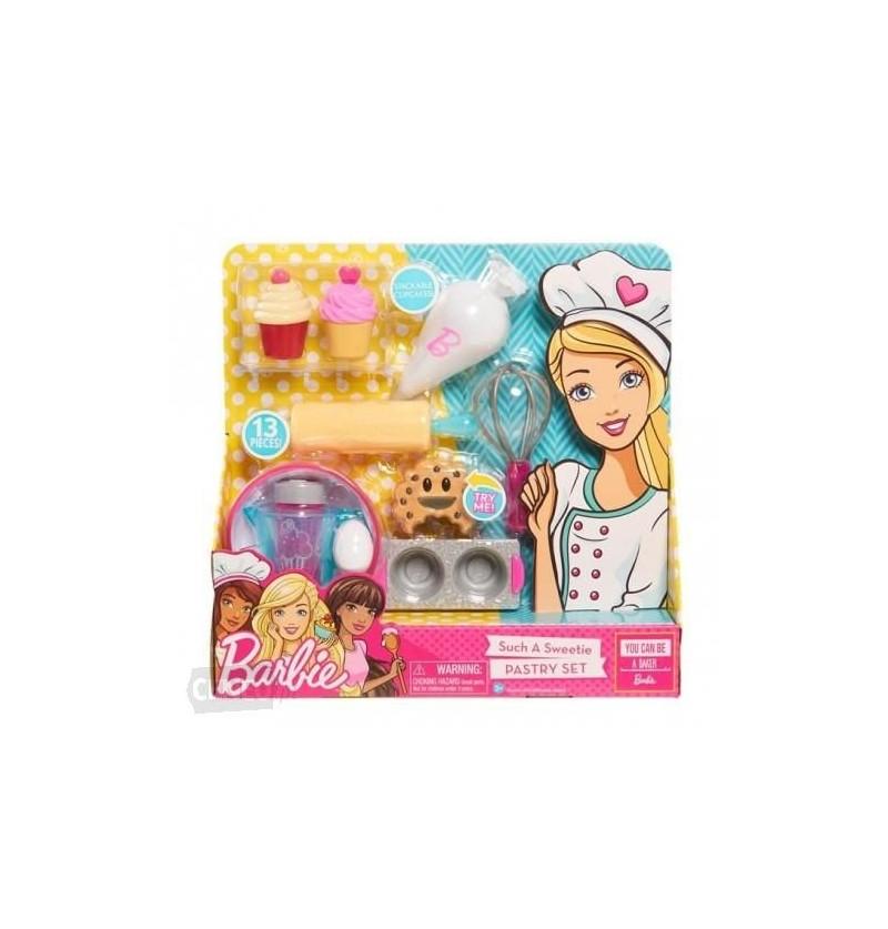 Barbie 61850 wyroby cukiernicze zestaw kulinarny
