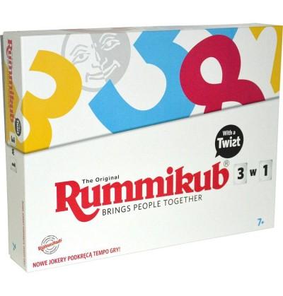 Gra Rummikub 3 W 1