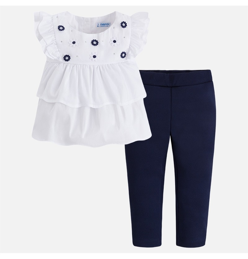 Komplet spodnie i bluzka Mayoral 3522-080