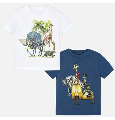 Zestaw 2 koszulek Mayoral 1060-046