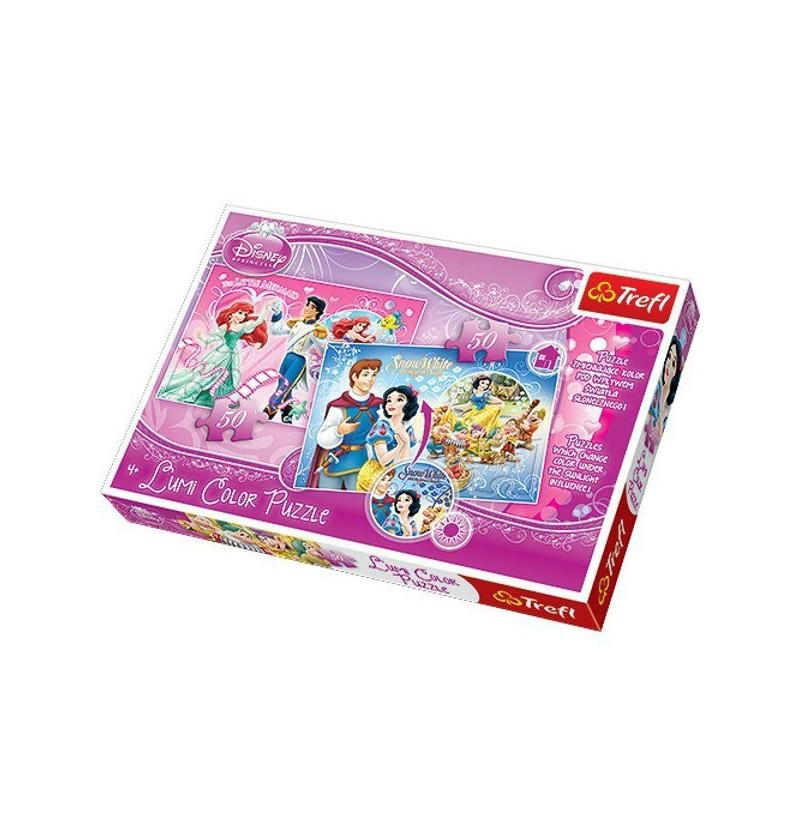Puzzle Trefl Arielka 16500 2x50 el.