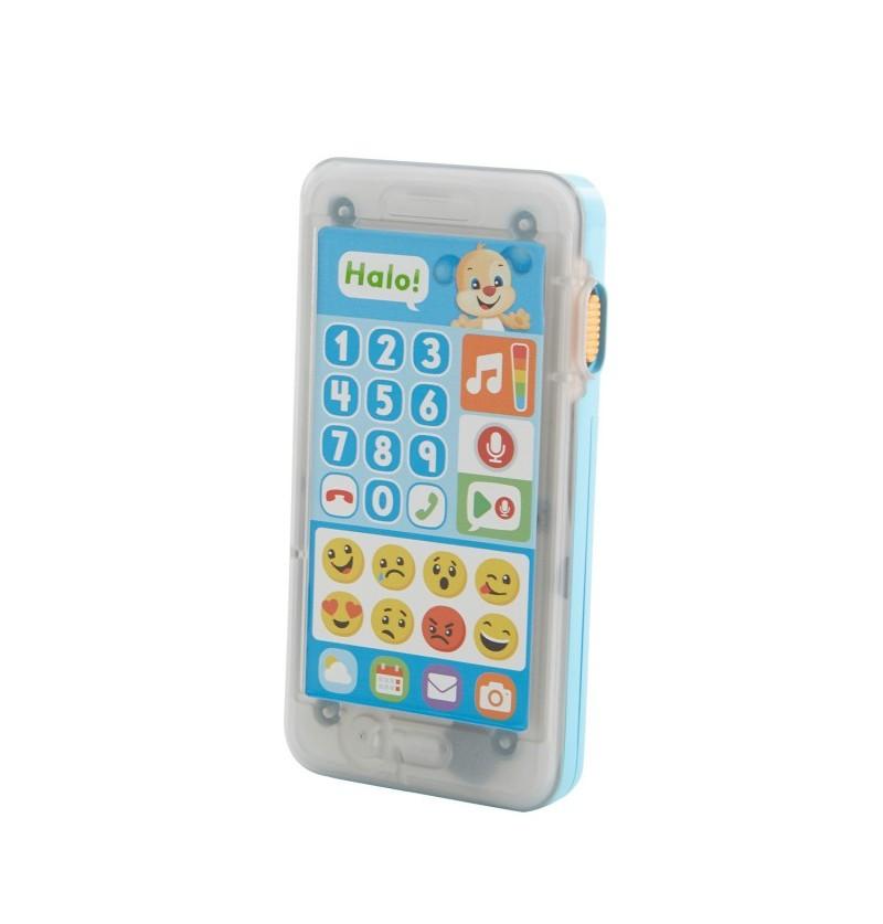 Fisher-Price FPR18 Uczący smartfonik Szczeniaczka &quotNagraj wiadomość&quot PL