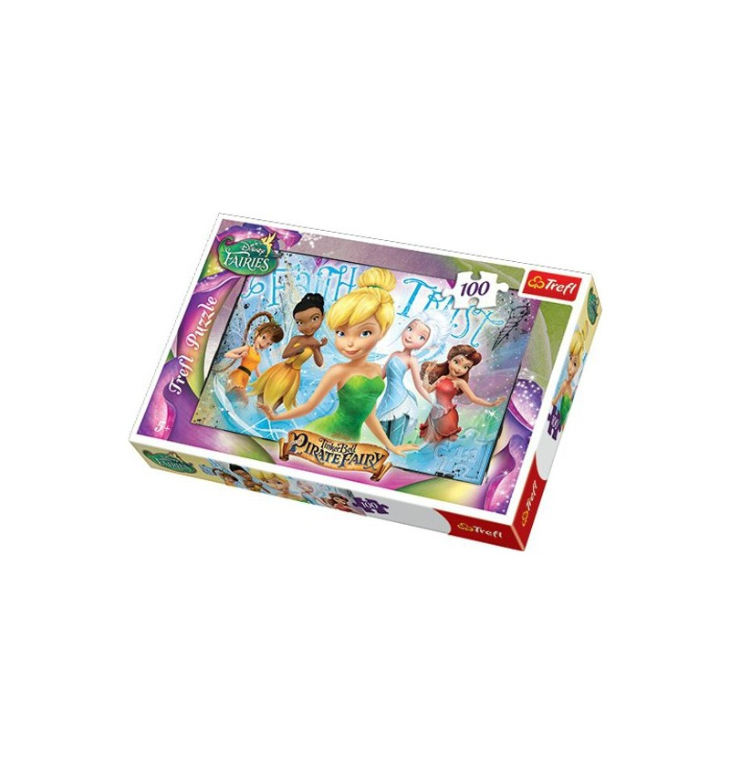 Puzzle Trefl Dzwoneczek i Wróżka Piratka 16256 100el.