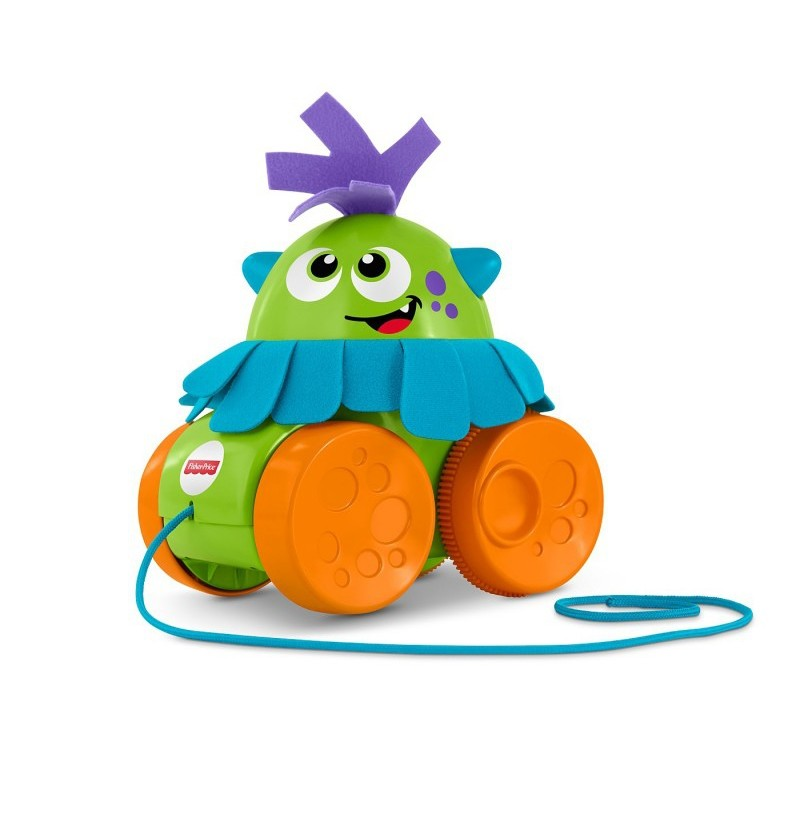 Fisher-Price Spacerowy Stworek FHG01