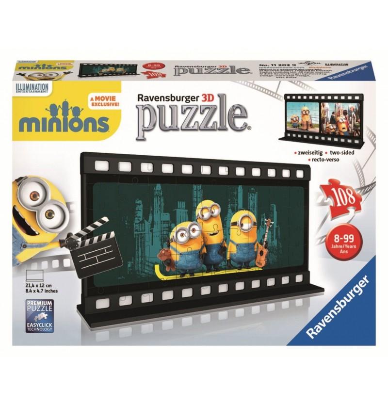 Puzzle 3D Minionki 112029 108 el.