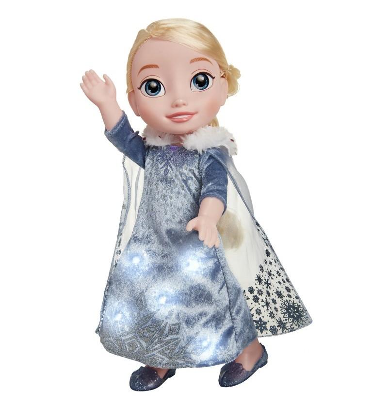 Jakks Kraina Lodu 72536 Lalka Śpiewająca Elsa Dźwięk Światło