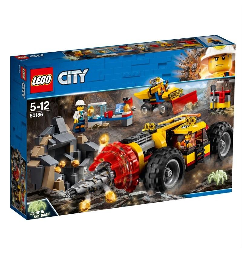Lego City 60186 Ciężkie wiertło górnicze