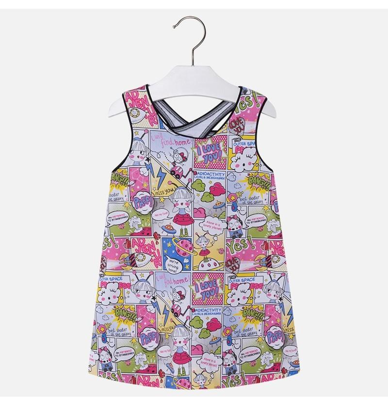 Sukienka dla dziewczynki 3998-002 Mayoral