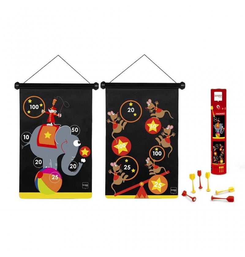 Scratch Rzutki magnetyczne Cyrk 6182009
