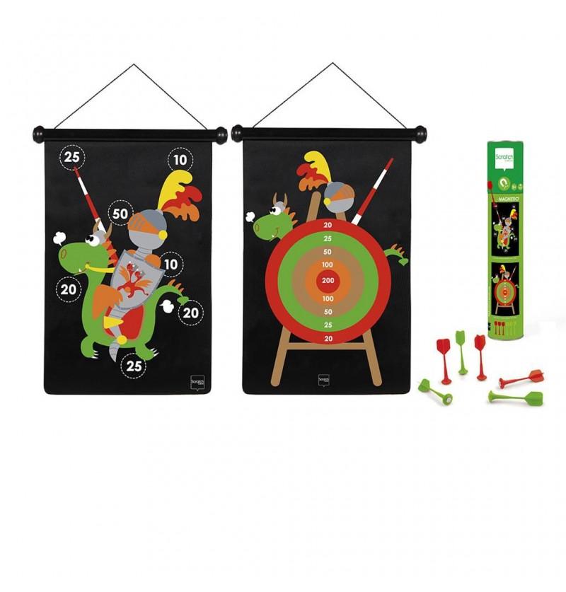 Scratch Rzutki magnetyczne Rycerz 6182020