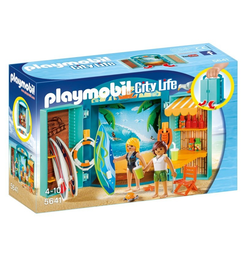 Playmobil 5641 Play Box Sklep Surfingowy