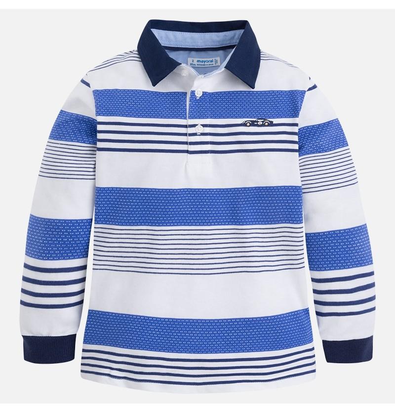 Koszulka polo w paski 3178-050 Mayoral