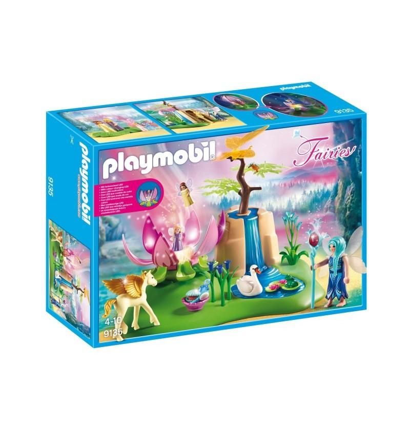 Playmobil 9135 Świecący kwiat dzieci wróżek