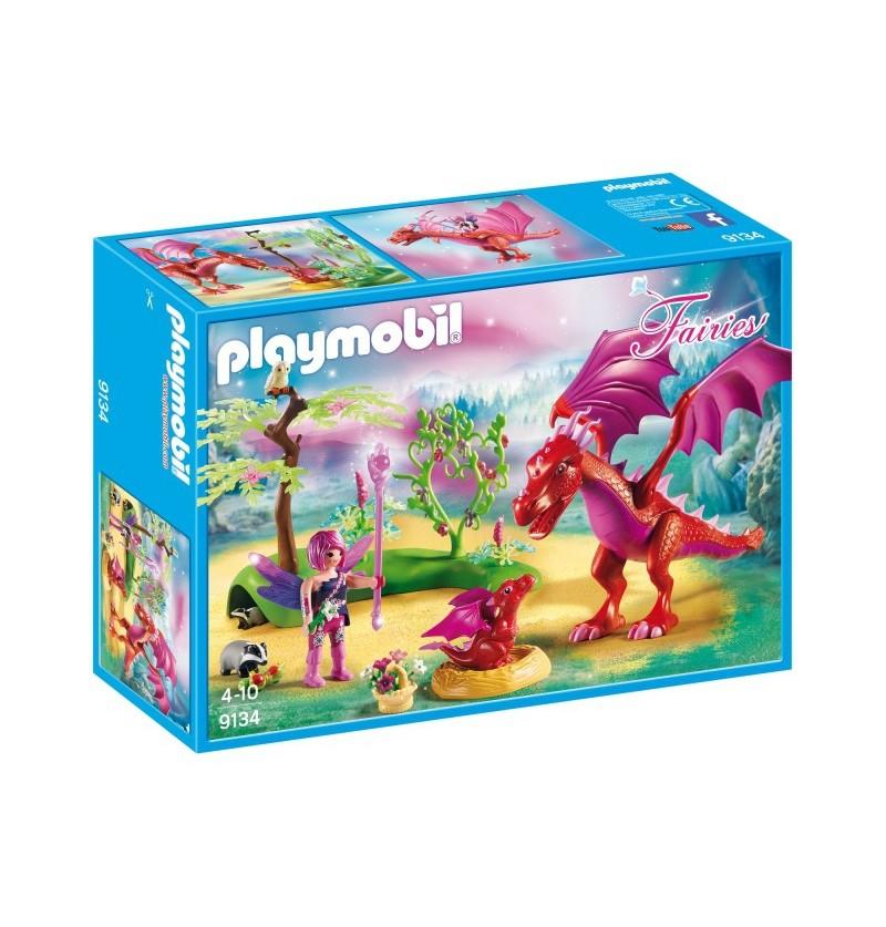 Playmobil 9134 Smocza mama ze smoczątkiem