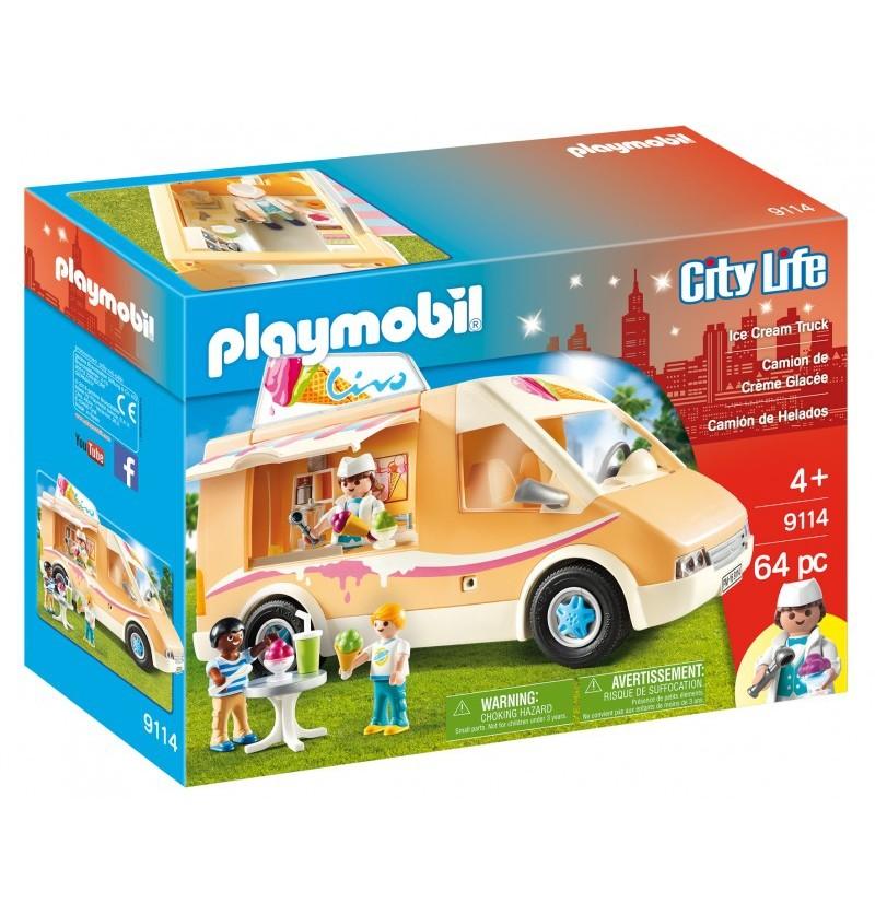 Playmobil 9114 Furgonetka lodziarza