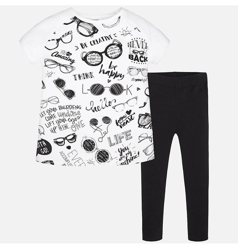 Komplet legginsy i koszulka Mayoral 6711-041