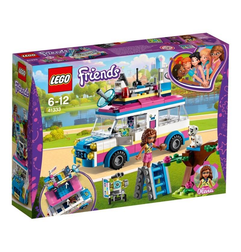 Lego Friends 41333 Furgonetka Olivii