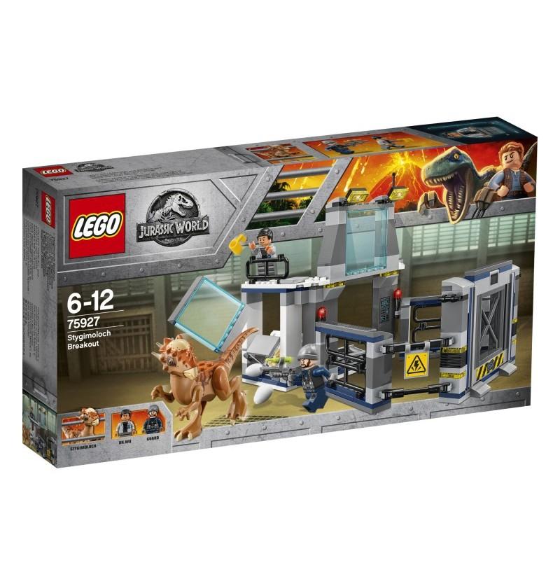 Lego Jurassic World 75927 Ucieczka z labolatorium ze stygimolochem