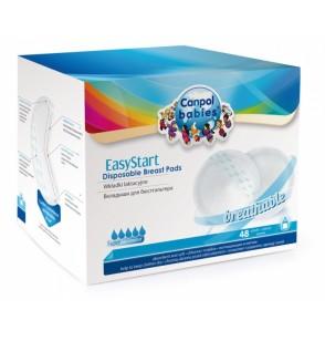 Canpol Babies Wkładki laktacyjne EasyStart 48szt. 19/600