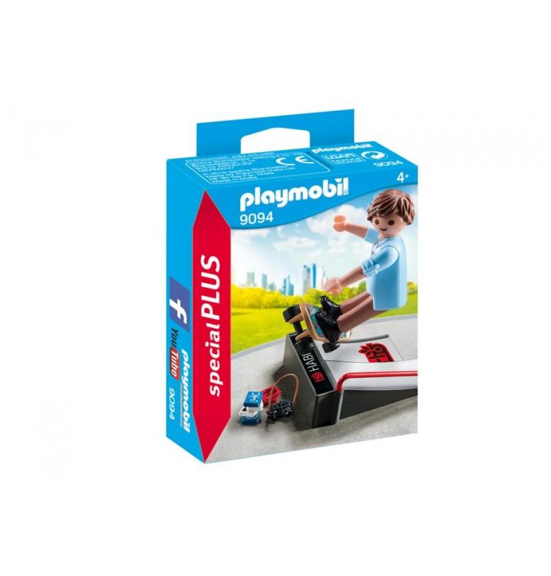 Playmobil 9094 Skater z rampą