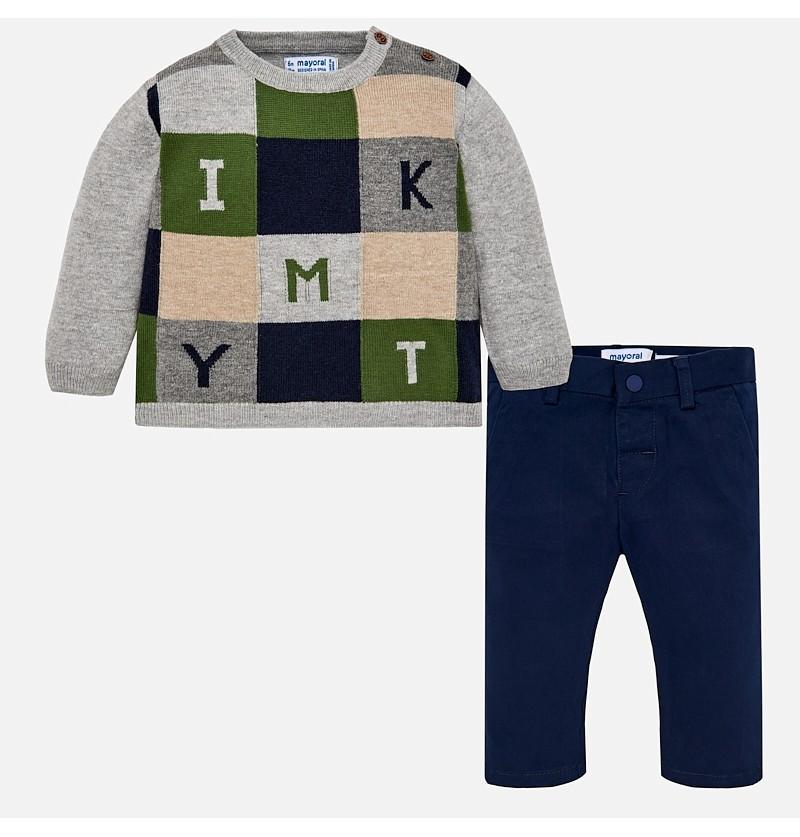 Komplet sweter i spodnie 2586-080 Mayoral