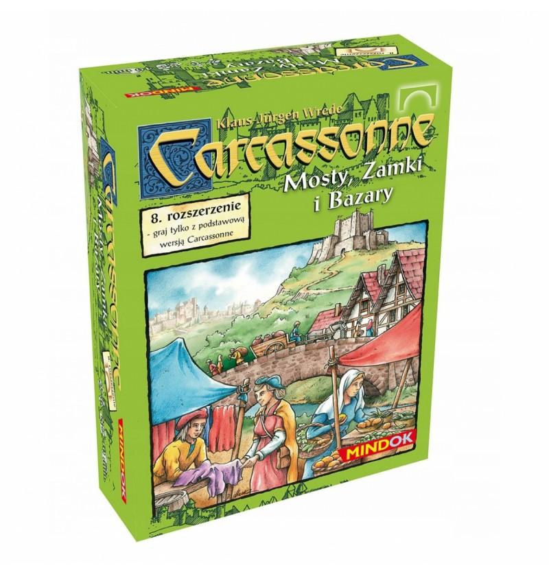 Gra Carcassonne Mosty zamki i bazary (1 edycja) 30067