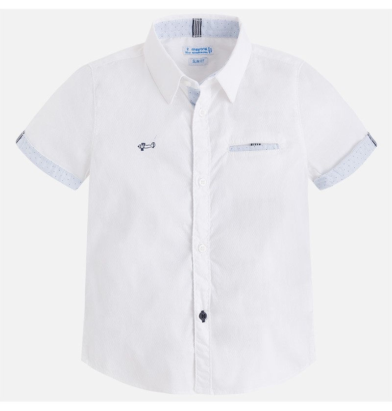 Koszula z krótkim rękawem 3150-066 Mayoral