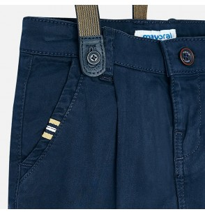 Spodnie chino z szelkami 3530-063 Mayoral