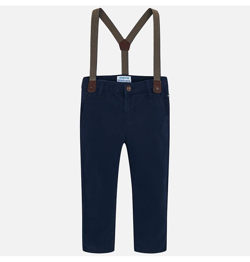 Spodnie chino z szelkami 4518-078 Mayoral