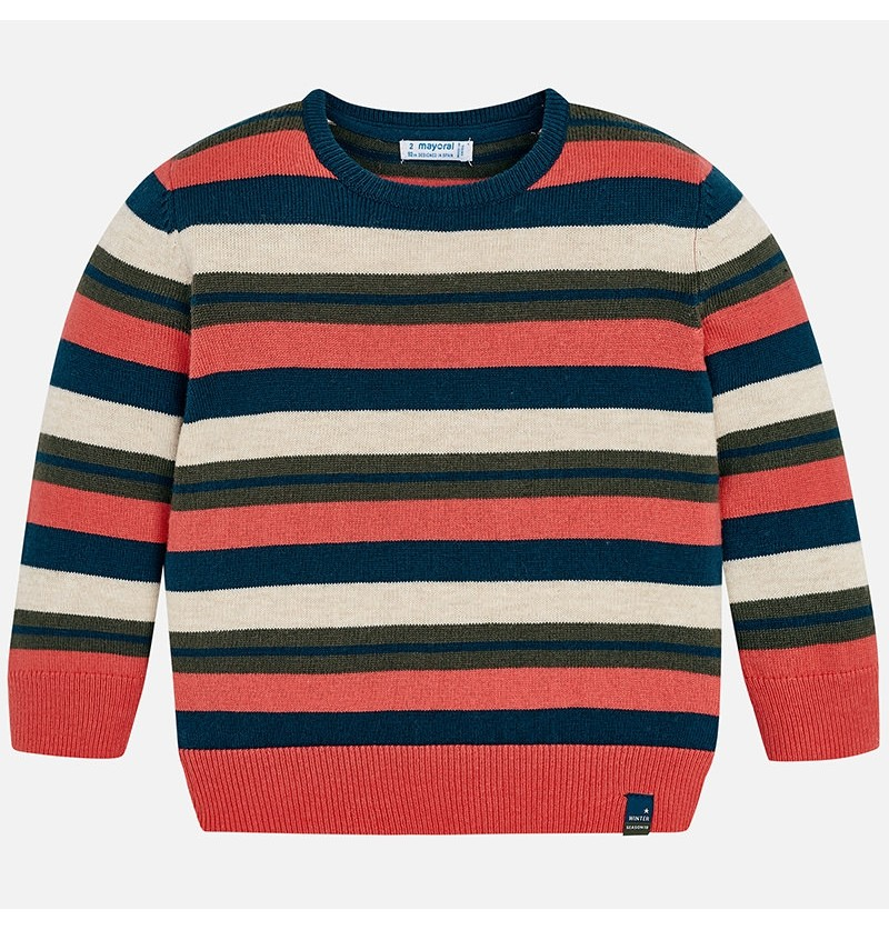 Sweter w paski 4314-051 Mayoral