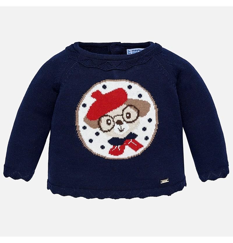 Sweter z pieskiem 2332-037 Mayoral