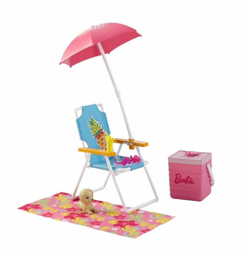 Barbie DVX49 Akcesoria wypoczynkowe piknik