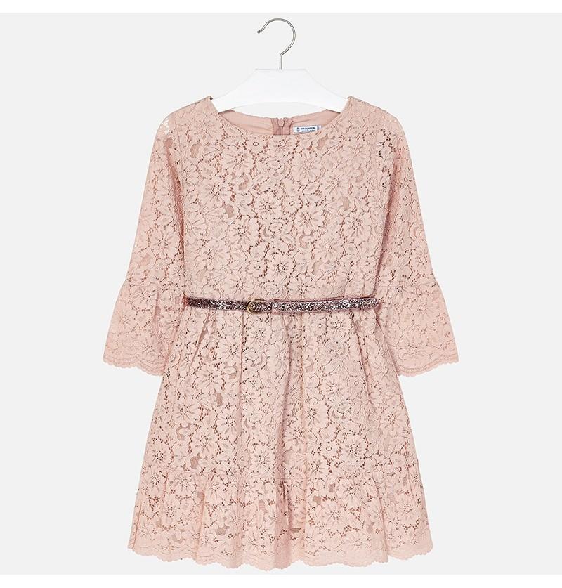 Koronkowa sukienka 7930-088 Mayoral