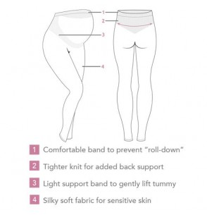 Carriwell Legginsy Carriwell Comfort dla kobiet w ciąży S