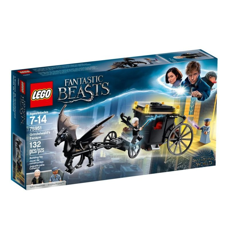 Lego Harry Potter Ucieczka Grindelwalda 75951