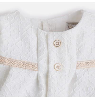 Dwuczęściowa sukienka dla dziewczynki Mayoral 1823