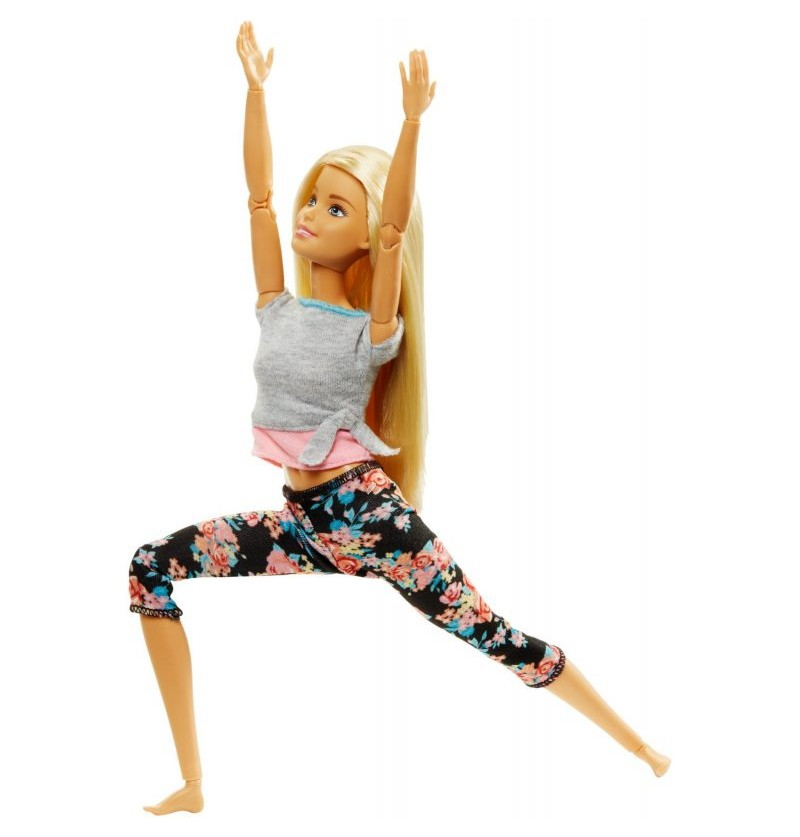 Barbie FTG81 Made to Move Kwieciste Lalka Blond