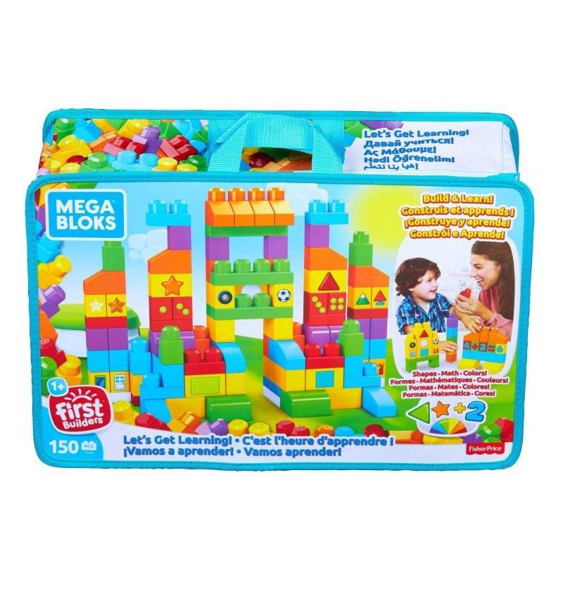 Mega Bloks FVJ49 Torba 150 el Czas na naukę