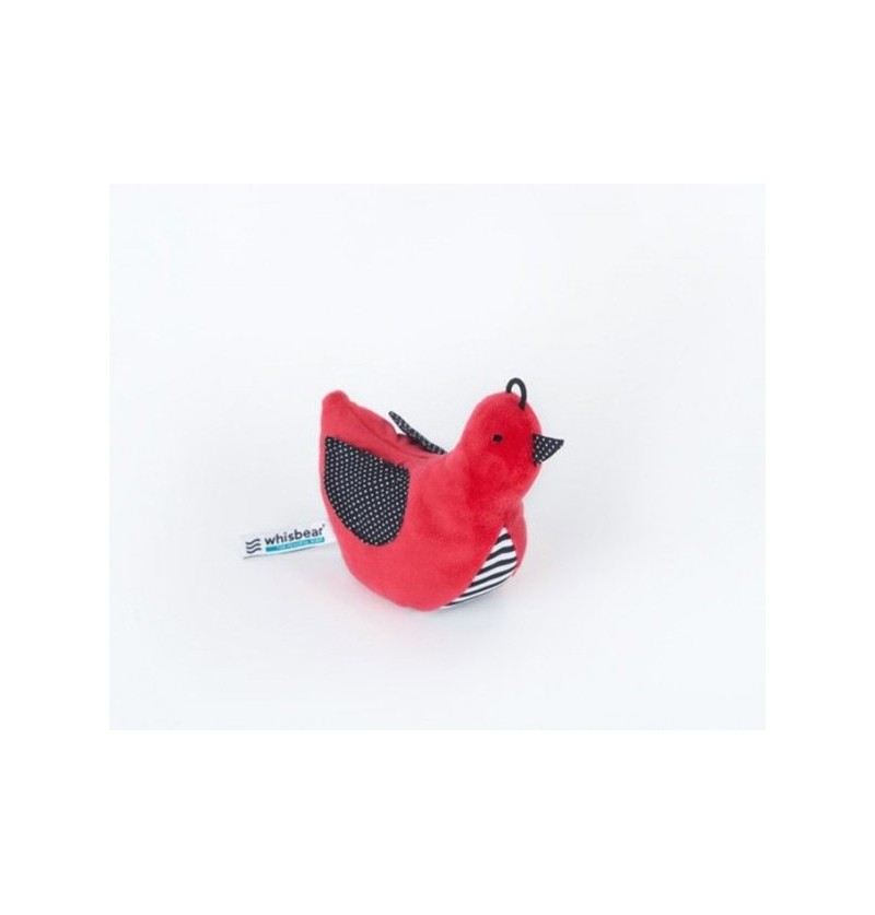 Whisbear 0009 Whisbird Szumiący Ptaszek czerwień