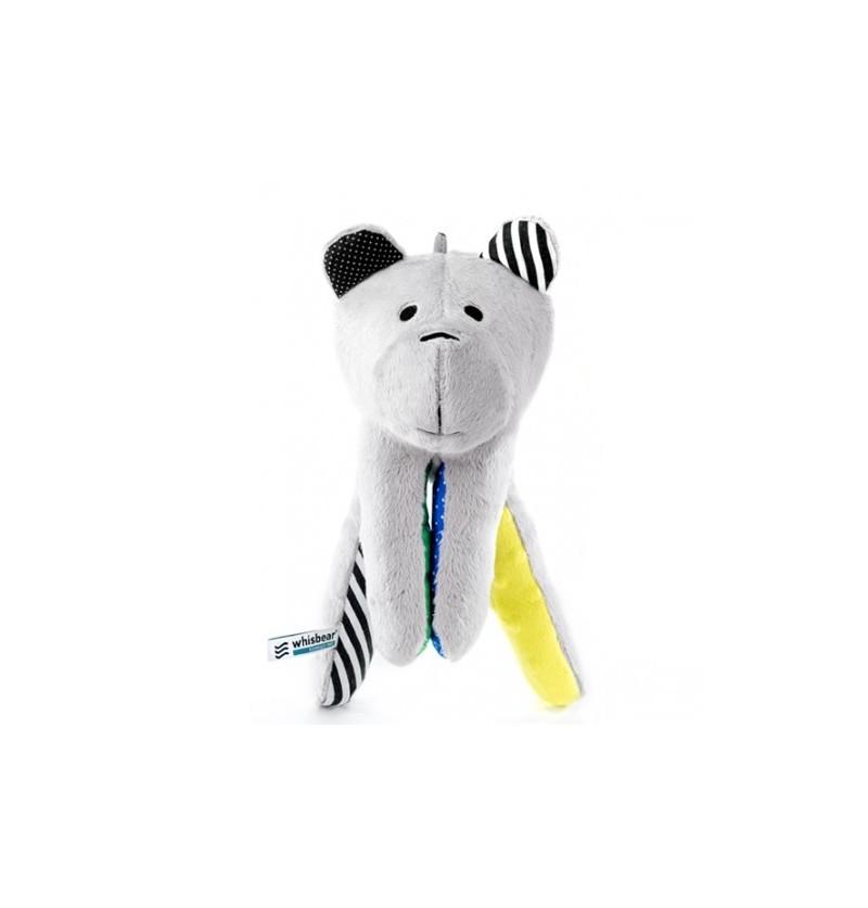 Whisbear 0015 Whisbird Szumiący Miś z funkcją CRYsensor cytryna