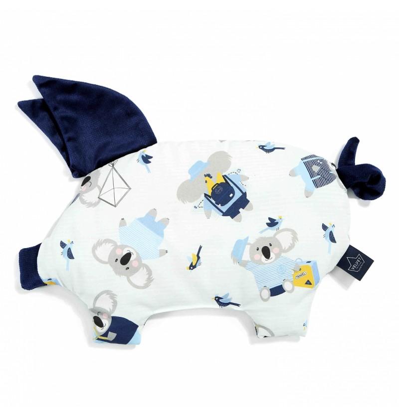 La Millou Poduszka Sleppy Pig Hello World Royal Navy