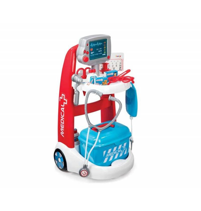 Smoby Wózek medyczny lekarski ze stetoskopem 340202