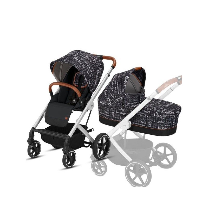 Wózek 2w1 Cybex Balios S Strength Dark Grey