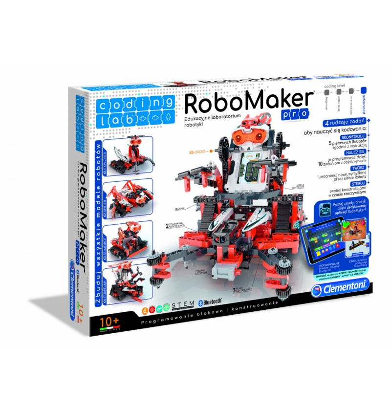 Clementoni 50523 Laboratorium Robotyki