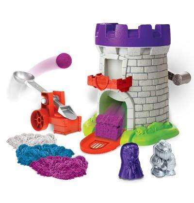 Kinetic Sand 6035825 Piasek kinetyczny Magiczna wieża