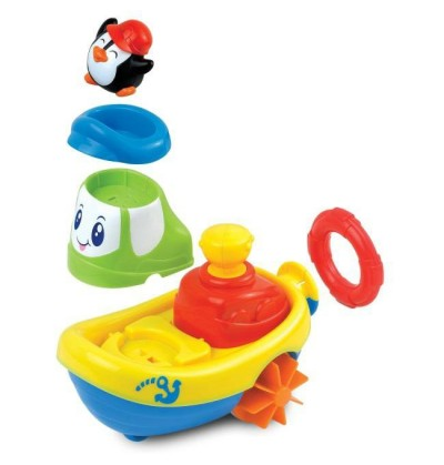 Dumel Nakręcona łódka pływam i jeżdżę DD 43250